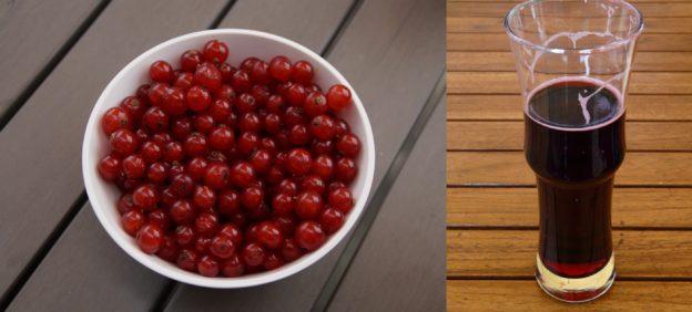 Beeren entsaften im Schnellkochtopf - Johannisbeersaft ist lecker und gesund